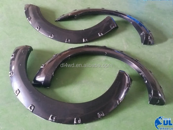 4x4 navara d40 parts ABS fender flares 2005-2012