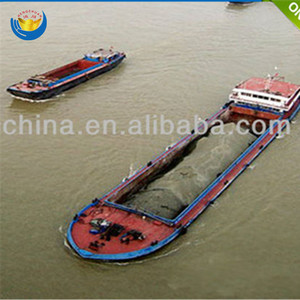 China mini auto self propelled sand transportation barge/boat for sale