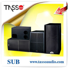 18 subwoofer enclosure audio loudspeaker