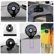 Hand-held USB Fan Portable Mini Foldable Fan Battery Rechargeable