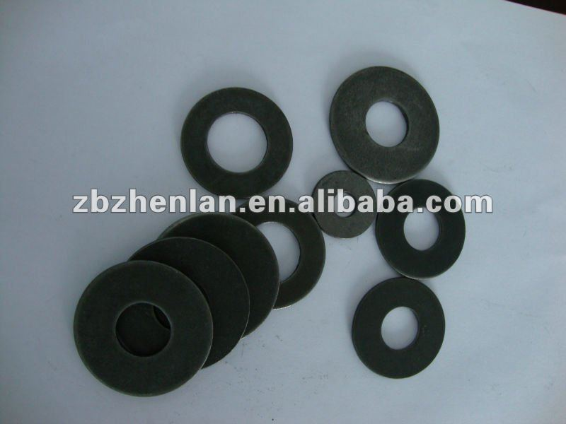 ASTM f436 flat washer black/ HDG finish with hardened