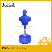 Both for commercial and home use, professional man shape silicone punching bag