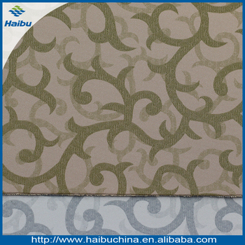 Soft and comfortable PVC decoratice leather for wallpaper decoration