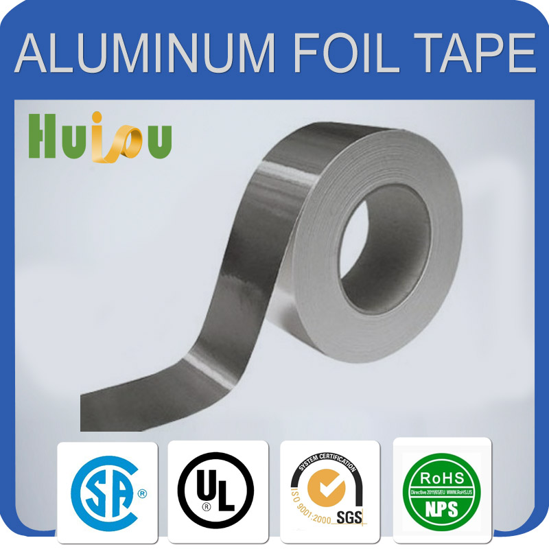 Coated Lacquer Aluminum Foil Tape for Medical Packaging fireproof heat resistant self adhesive fiberglass reinforced aluminum
