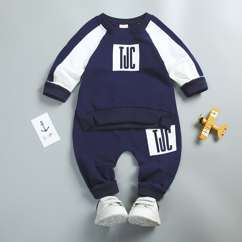 Bulk Wholesale Kids Clothes Boys Autumn Sports Clothing Sets From China