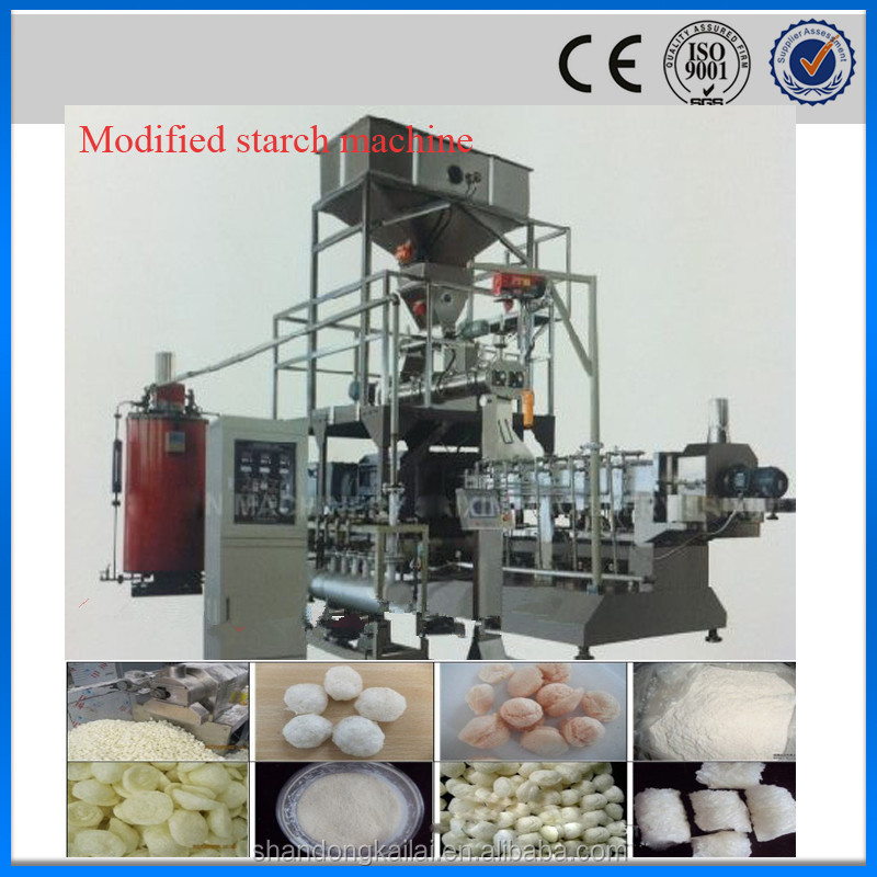 Shandong China Oil drilling use modified starch making machine for sale