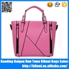 China wholesale 2015 elegance shoulder bag ladies branded pu leather women tote handbag