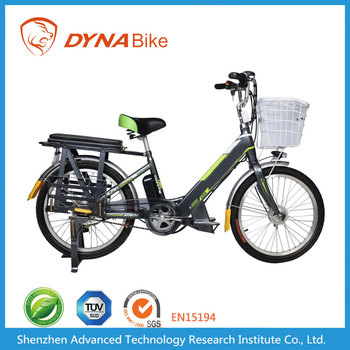 Dynabike Power L1 - 22 Inch Electric Bicycle - 10AH Lithium Battery
