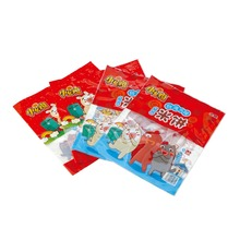 3 side seal snack heat seal plastic packaging bags with easy-tearing with custom eye-catching printing