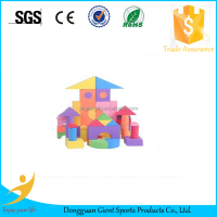 light colorful EVA foam eduacational building blocks