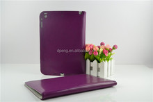 China factory sale hign quality luxury purple color card holder tablet case
