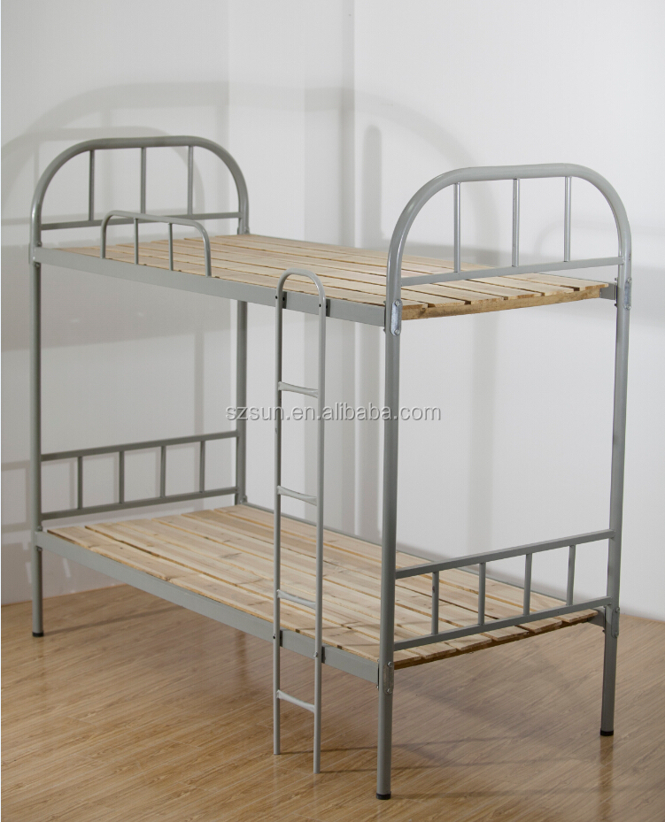 Modern Design Cheapest Double Decker Bed Steel Bed Prices