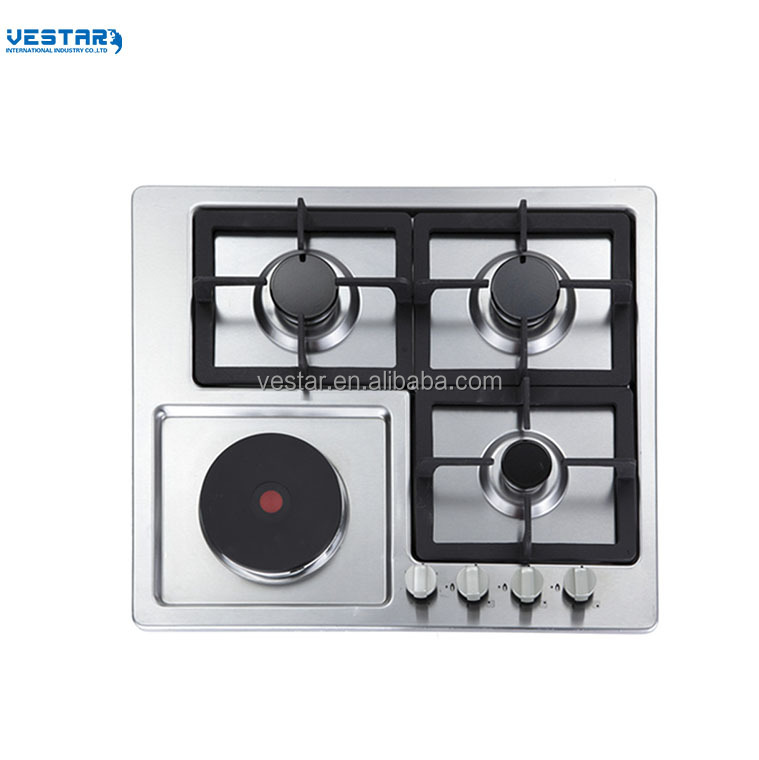 built-in gas stove with 4 burners kitchen gas hob cheap wholesale from china