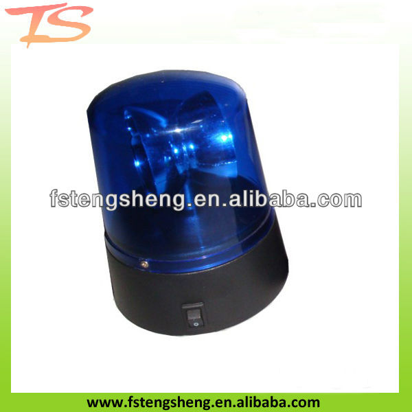 Mini LED rotating police Light-warning with B/O or USB
