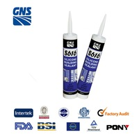 ant-fungusstainless steel silicone gum good adhesive