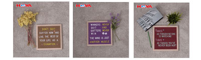 wholesale 2017 10X10 oak frame changeable felt letter board including 0.75 inch 290 plastic letters