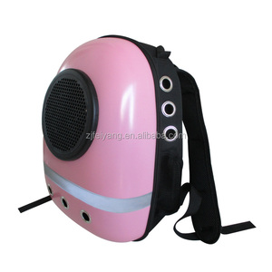Wholesale cheap OEM transport lightweight travel carrier dog/cat bags, ABS acrylic capsule astronaut backpack
