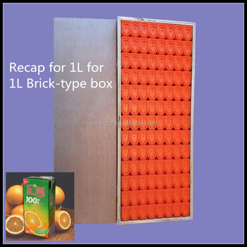 KT Re-cap for 1L brick-shape paper box