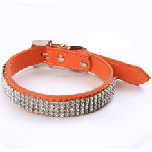 Metal Stud Alloy Stud PU leather Factory Making Dog Collar