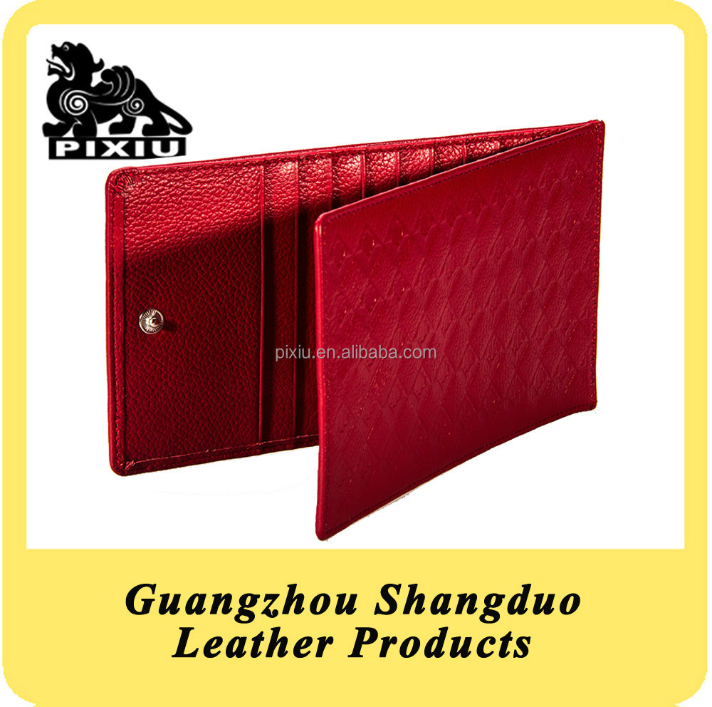 Alibaba Website Top Leather Promotional Gift Business Card Case