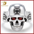 Wholesale The Expendables Single Stone Skull Ring, Stainless Steel Ring Jewelry, New Gold Ring Designs For Men