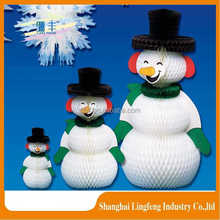 hot sale snowman sticker for christmas