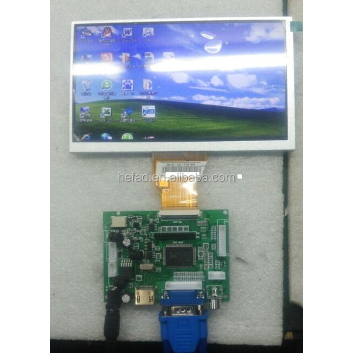 "7"" Lcd Panel Kit for Raspberry Pi 1280*800 with or without touch"