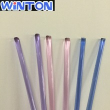 Good Purity colored Quartz Glass Rod Made by Winton