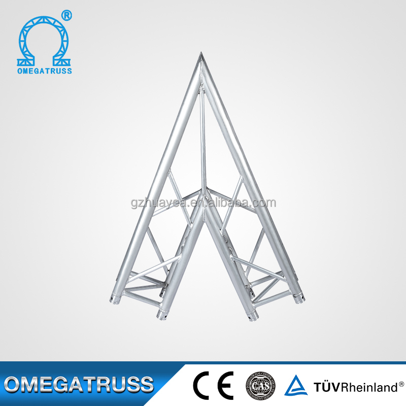 Used to build tableaux Cheap 2 ways aluminium triangle truss