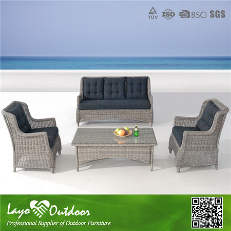 Professional Furniture Making Factory customer rattan tropical dining sets in time delivery