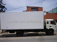 fiberglass truck body kits/frozen truck box refrigerated truck body/meat transport refrigerated truck body