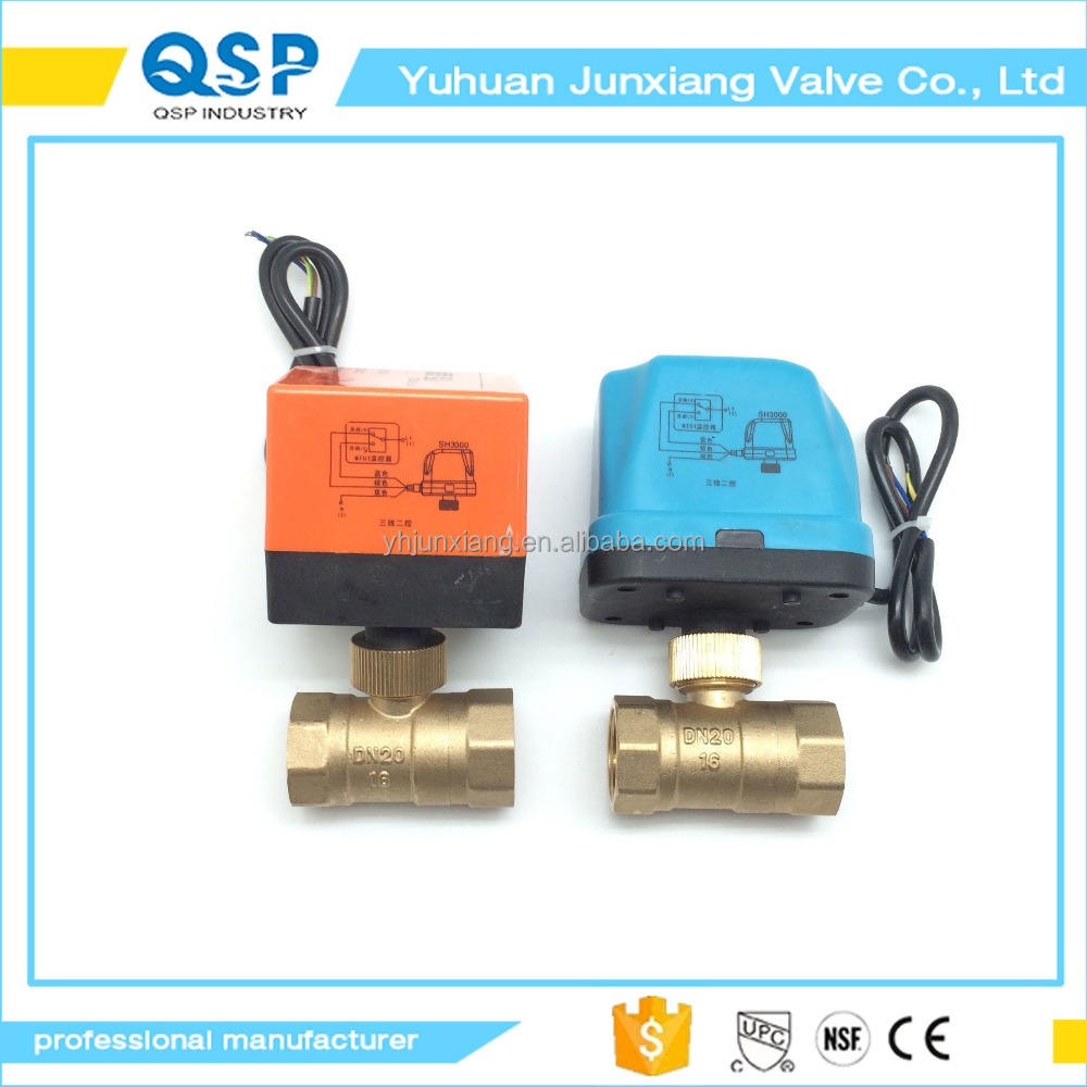 JUNXIANG Pilot Operated General Service 2-Way 220v water solenoid valve, Brass Body, 1 Inch NPT