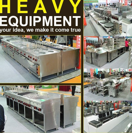 Kitchen equipment/Restaurant equipment/Hotel Kitchen Project Factory Stainless Steel Hotel Equipment