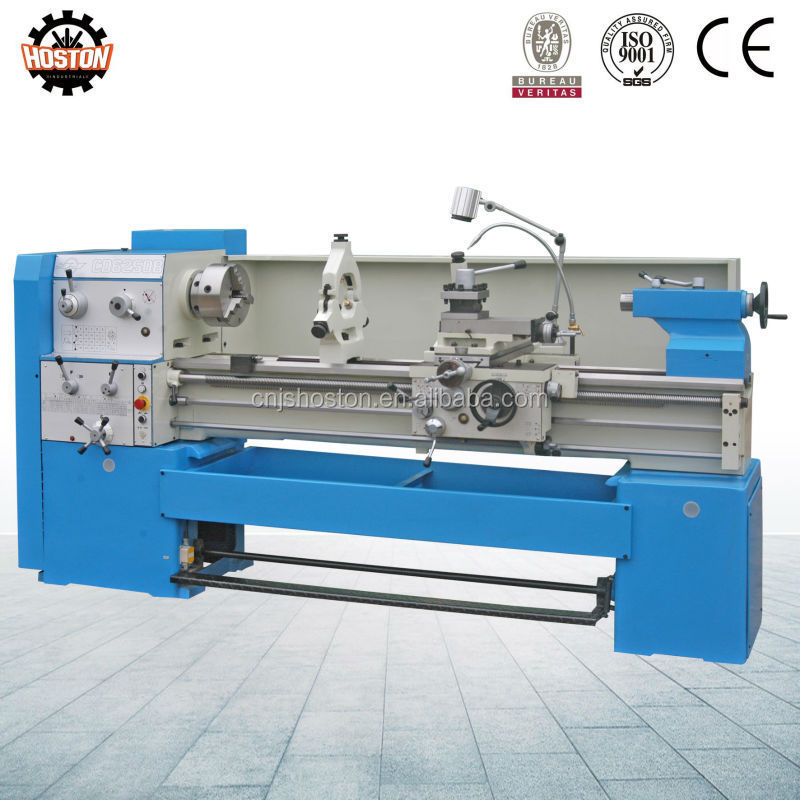 Hoston CDB Series 1500mm spindle Hole 65mm Hobby Metal lathe for hot sale