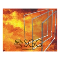 top quality fireplaces fireproof glass, fire proof glass factory supply