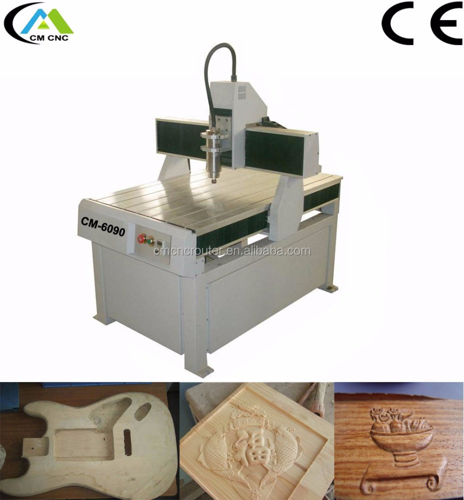 CM-6090 CNC Router For Making Rickenbacker Guitar