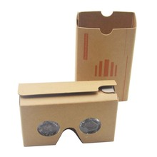 "Google cardboard version 2.0 Google Cardboard 2 virtual reality 3D glasses for 3.5-6"" phone vr google cardboard"