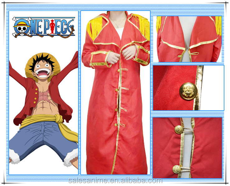 One Piece Costume Luffy Anime cosplay Costume uniforms Halloween Costume