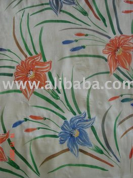 Saree Fabric Painting