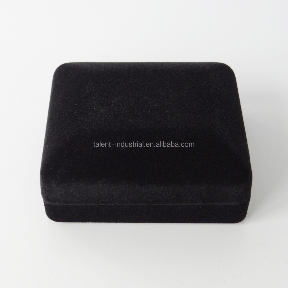 Customized logo velvet jewelry gift boxes jewelry set box model