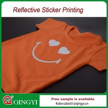 QingYi silver reflective sticker printing
