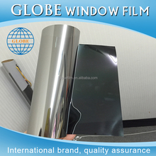 One way vision mirror aluminum foil reflective window tint film