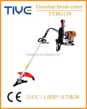 Weeding machine four stroke gasoline back-pack brush trimmer 31cc grass cutter price