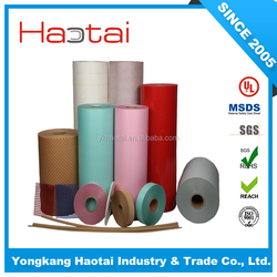Hot selling 0.05mm/2 mil red clor layer insulation paper for oil transformer winding
