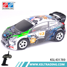 Popular 2.4G 1:24 scale rechargeable plastic wl toys rc car for sale