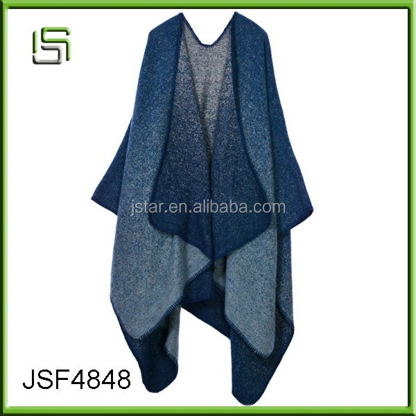 Autumn and winter scarves shawls imitation cashmere fashion fork thicken the blanket cloak scarf