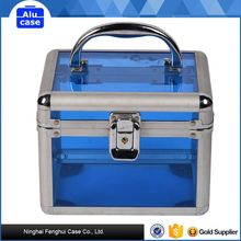 Aluminum hair small beauty case with 3 sizes