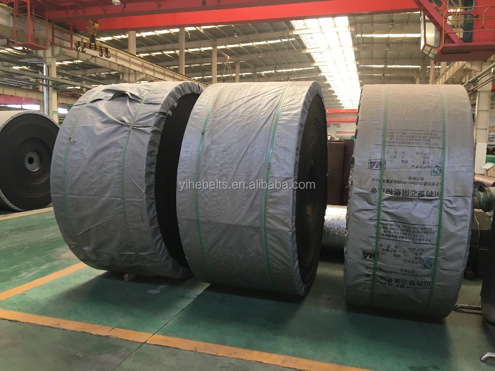 High abrasion ST4000 steel cord conveyor rubber belt with the best price