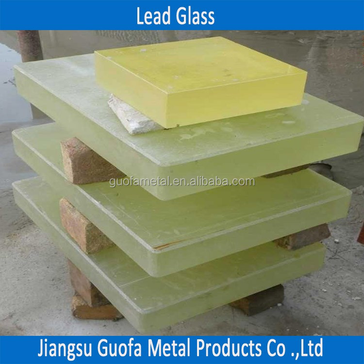 1mm 2mm Radiation Protection X Ray Lead Glass Price