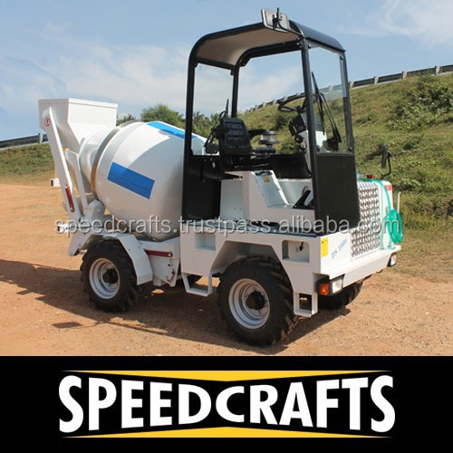 Mobile Self-Loader Concrete Mixer Machinery/Equipment